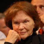 First Lady Danielle Mitterrand