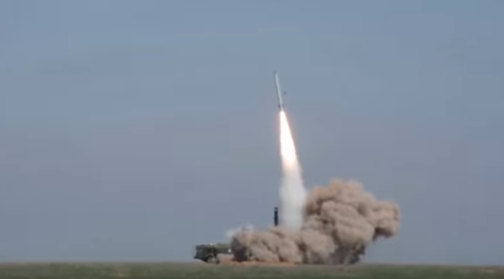 Russian missile test footage of a 9M723